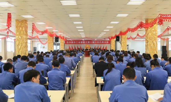 合兴股份召开工会暨职工第一届一次代表大会